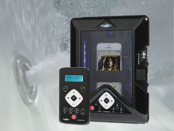 Aquatic AV marine audio smart dock iphone