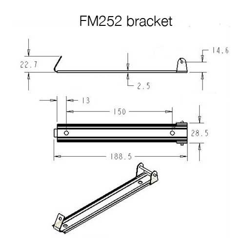 fm252 led pool light